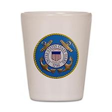 USCG Emblem Shot Glass