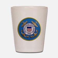 USCG Emblem Shot Glass