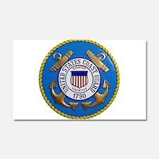 USCG Emblem Car Magnet 20 x 12