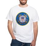 USCG Emblem White T-Shirt