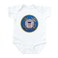 USCG Emblem Infant Bodysuit