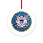 USCG Emblem Ornament (Round) Ornament (Round)