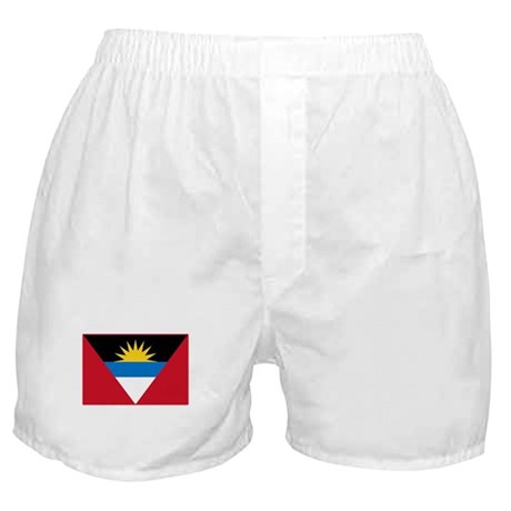 Antigua Flag T Shirts Boxer Shorts