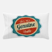Retro Genuine Quality Since 1963 Pillow Case