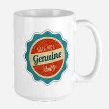 Retro Genuine Quality Since 1963 Mug