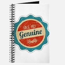 Retro Genuine Quality Since 1961 Journal