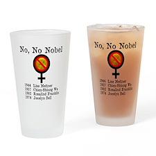No No Nobel Drinking Glass