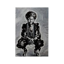 Nina Simone Rectangle Magnet