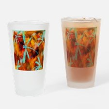 Dragonfly Desert Flit Drinking Glass