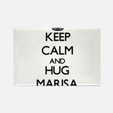 Keep Calm and HUG Marisa Magnets