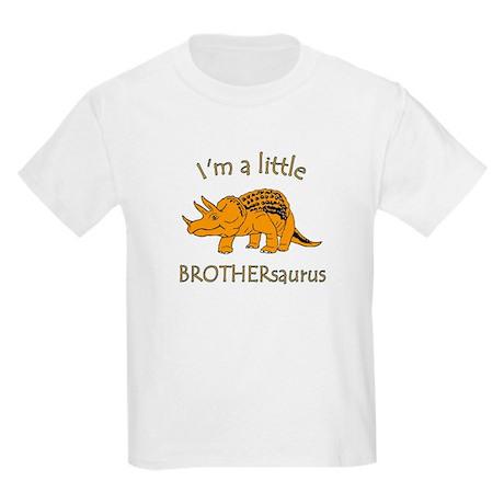 I'm a Little Brothersaurus Kids Light T-Shirt