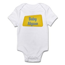 Baby Alyson Infant Bodysuit