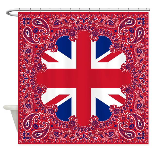 Union Jack Shower Curtain By Highaltitudes3