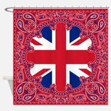 Union Jack Shower Curtain