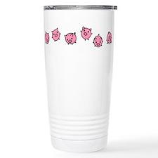 Cute Piggy Stainless Steel Travel Mug