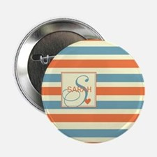 "Mid-Tone Stripe Monogram - Personalized 2.25"" Butt"