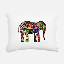 Abstract Image Rectangular Canvas Pillow