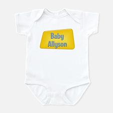 Baby Allyson Infant Bodysuit