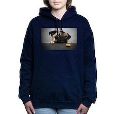 Hungry Pug! Hooded Sweatshirt