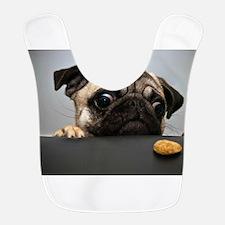 Hungry Pug! Bib