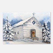 A Country Christmas Postcards (Package of 8)