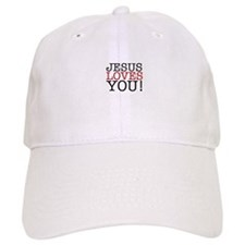 Jesus loves You! Baseball Baseball Cap