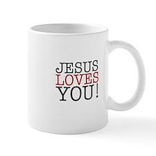 Jesus loves You! Mugs