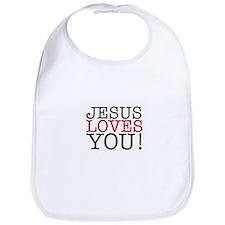 Jesus loves You! Bib