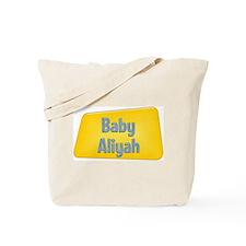 Baby Aliyah Tote Bag