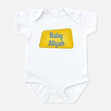 Baby Aliyah Infant Bodysuit