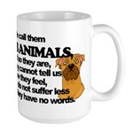 Dumb Animals Large Mug