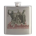 Buckner's 100% Clearance Rate Flask