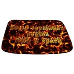 Every revolution begins with a spark Bathmat