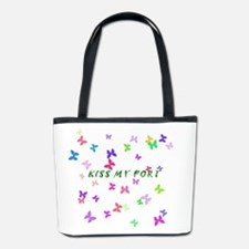Butterfly Kiss my Port Bucket Bag