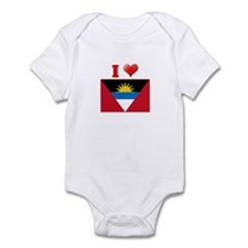 I love Antigua and Barbuda Infant Bodysuit