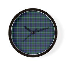 Tartan - Forbes Wall Clock