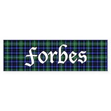 Tartan - Forbes Bumper Sticker