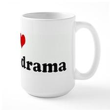 I Love korean drama Mugs