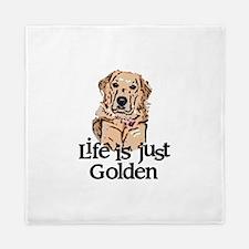 Life is Just Golden Queen Duvet
