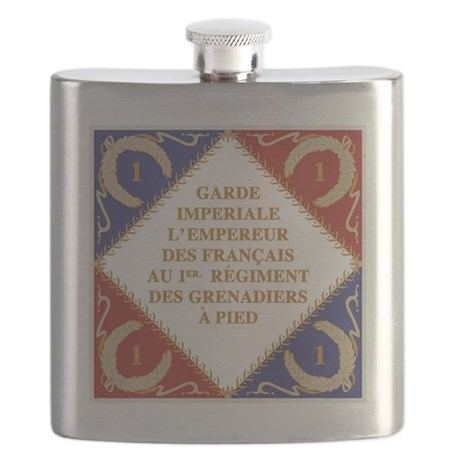 Flag of Napoleon's Guard Flask