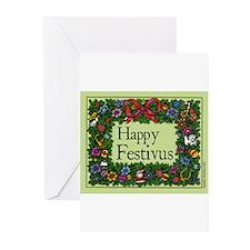 Traditional Festivus Cards (Pkg of 10) Greeting Ca