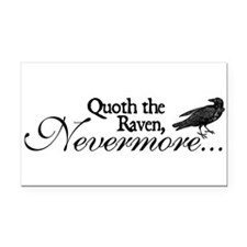 Cute Raven Rectangle Car Magnet