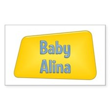 Baby Alina Rectangle Decal
