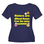 SISTER ARE DIFFERENT FLOWER FROM THE SAME GARDEN P