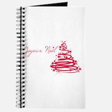 Joyeux Noël in Red Journal