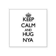 Keep Calm and HUG Nya Sticker