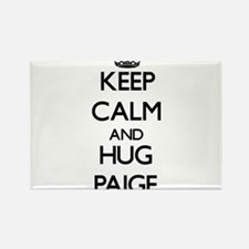 Keep Calm and HUG Paige Magnets