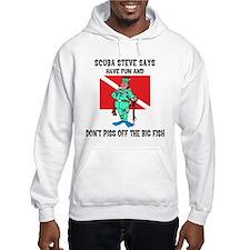 SCUBA Steve Says Hoodie