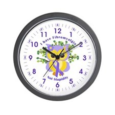 I Have Fibromyalgia Wall Clock