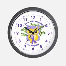 I Have Fibromyalgia Wall Clock